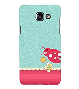 Beetle Pattern 3D Hard Polycarbonate Designer Back Case Cover for Samsung Galaxy A3 (2016) :: Samsung Galaxy A3 2016 Duos :: Samsung Galaxy A3 2016 A310F A310M A310Y :: Samsung Galaxy A3 A310 2016 Edition