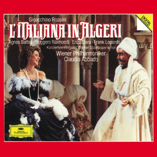 Rossini: L'Italiana in Algeri / Baltsa, Raimondi, Dara, Lopardo, Wiener Phil., Abbado (Italian Girl In Algiers compare prices)