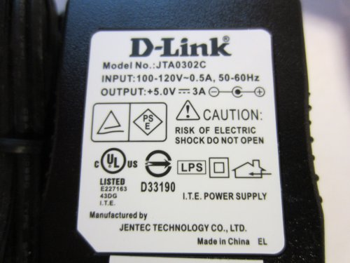 New Genuine Real D-Link Power Supply Ac Adapter 5V 3A Jta0302C