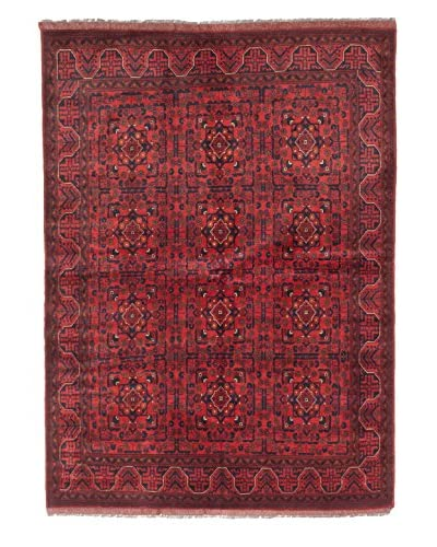 eCarpet Gallery One-of-a-Kind Hand-Knotted Khal Mohammadi Rug, Red, 5' 11 x 8' 3