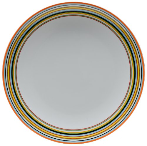 Iittala Origo Dinner Plate, Orange
