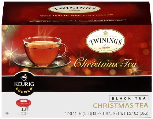 Twinings Christmas Tea K-Cups For Keurig Brewers - 12 K-Cups