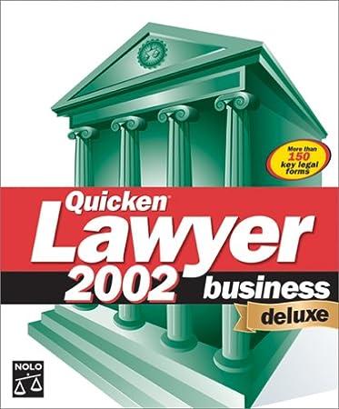 Quicken Lawyer 2002 Business Deluxe