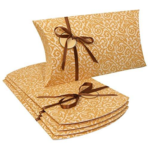 sigel-pb006-grosse-pillowboxen-35-x-19-x-6-cm-5-stuck-mit-beflockung-inkl-geschenkband-und-anhanger