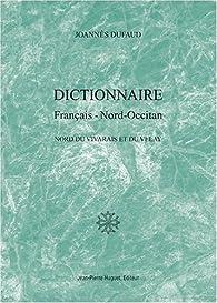 Dictionnaire français-nord occitan par Joannès Dufaud