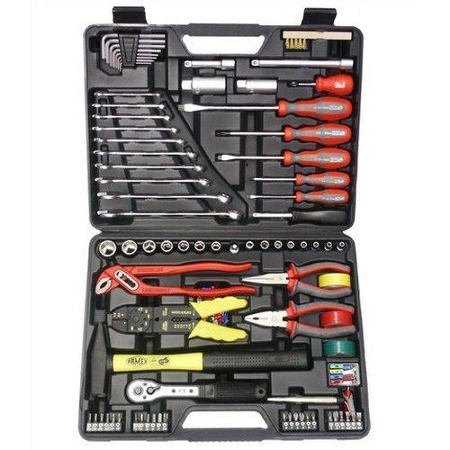 FAMEX Tools 144-FX-55 168-Piece Tool Kit