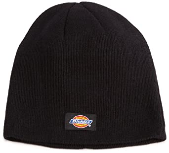 Dickies Men's 9 Inch Knit Beanie,Black,One Size