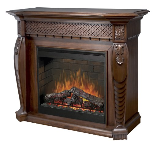 Dimplex Electraflame Vienna Electric Fireplace in Burnished Walnut picture B0028XN54K.jpg