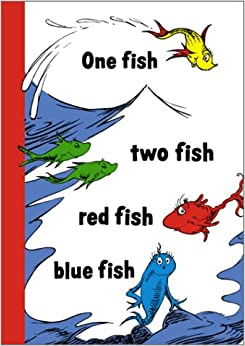 One fish two fish blank journal dr seuss 9781568901022 for One fish two fish book