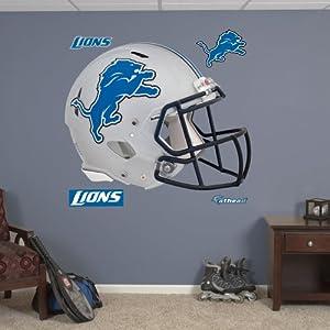 NFL Detroit Lions Helmet Wall Graphics by Fathead
