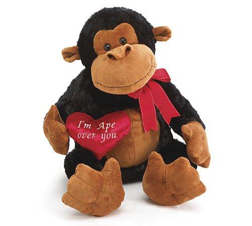 Best Jumbo Valentine S Day Plush Monkey I M Ape Over You Stuffed