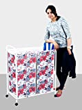 Deneb Dual Laundry Trolley