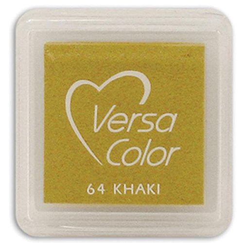 Tsukineko Small-Size VersaColor Ultimate Pigment Inkpad, Khaki - 1