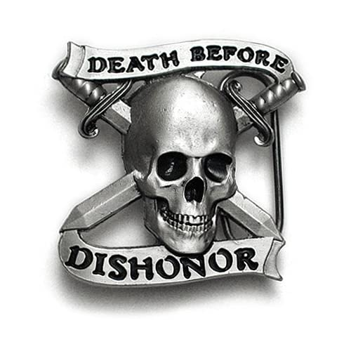 death before dishonor Is a marine corps saying meaning you will die before you dishonor god,  country, or corps it can also be related to anything you believe in that much.