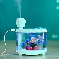 Home Office Improvement Water Mist Humidifier Air Moistener Fish Tank Pale Green