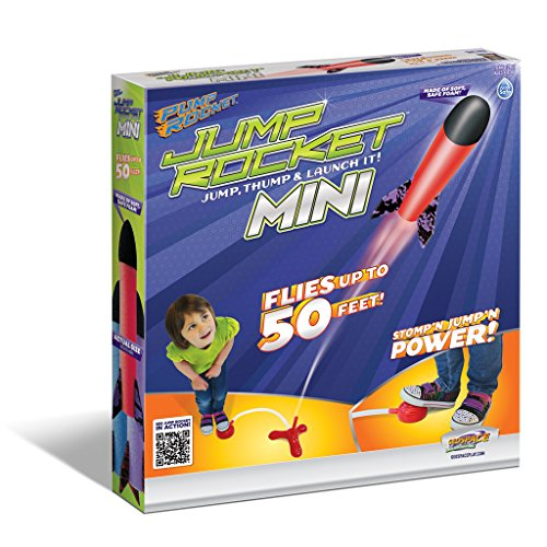 Geospace Jump Rocket MINI Set - Launcher with 3 Rockets - 1