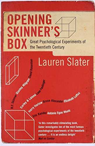 noteworthy psychological experiments of the 20th Noteworthy psychological experiments of the 20th century elizabeth e galvan renton high school rat race bf skinner is widely known for his infamous animal.