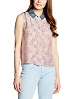 Trussardi Jeans Camisa Mujer (Coral)