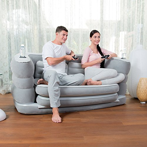 Bestway multi max ii inflatable air couch home garden - Divano gonfiabile amazon ...