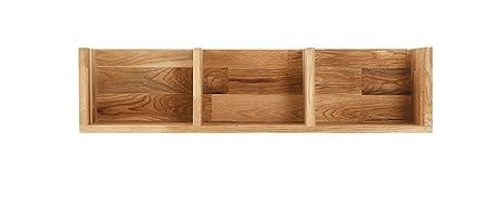 Rack, simple Rectángulo de roble de madera maciza En la pared Partición Estante de almacenamiento Estante de pared ( Tamaño : 630*160*144mm )