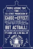 Doctor Who Wibbly Wobbly Timey Wimey Quote Tardis Illustration Sci Fi British TV Television Show Poster Print 24x36
