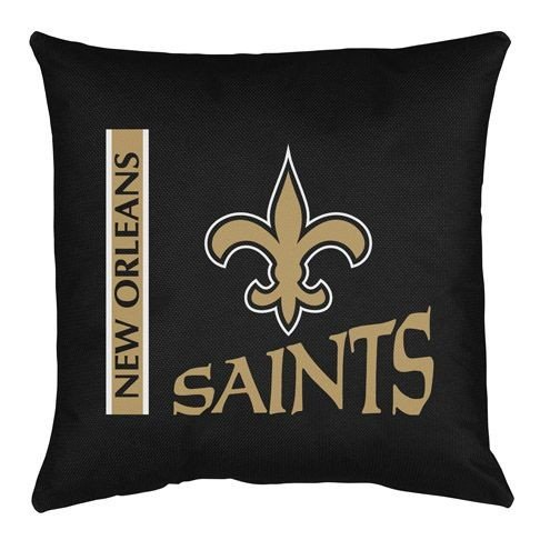 New Orleans Saints Locker Room Pillow (18x18) NFL at Amazon.com