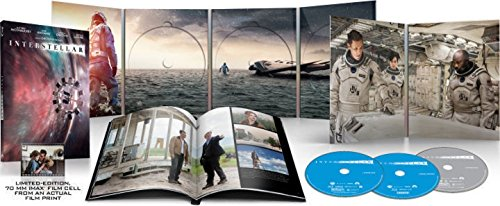 Great Features Of INTERSTELLAR Blu-ray+DVD+Digital HD COLLECTIBLE GIFT SET Includes Collectible Pack...