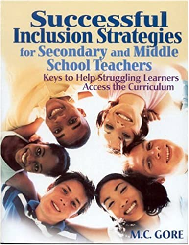 Book cover: successful inclusion strategies for secondary and middle school teachers