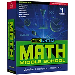 Mind Power Math Middle School (Grade 6-9)