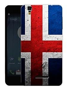 "Humor Gang Iceland Flag Printed Designer Mobile Back Cover For ""Yu Yureka Plus"" (3D, Matte, Premium Quality Snap On Case)"