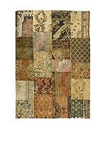 Eden Carpets Alfombra Pacthwork Marrón/Multicolor 342 x 238 cm