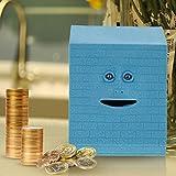 Chengor Cute Facebank Face Saving Bank Sensor Coin Money Eating Box Cute Piggy Gift