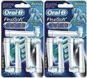 Braun EB 17-8+2 Ersatzzahnbürsten 10 Stück im Sparpack Flexisoft für Braun Oral-B Elektrozahnbürsten (Aktionspack)