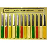 Fixwell 12-Piece Stainless Steel Knife Set
