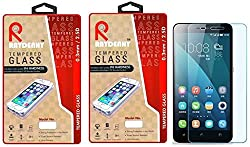Raydenhy Pack of 2 (2 PCS) 2.5D Curved Edges 0.33MM Thickness Tempered Glass For Huawei Honor 4X