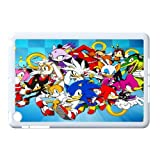 Custom xbox 360 games sonic The Hedgehog Case for Retina IPad Mini(Ipad Mini2)(white or black edge) Hard Plastic cover shell(HD image)