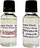 Black Jack and Aniseed Intense Food Flavours (Two 28.5 ml bottles)