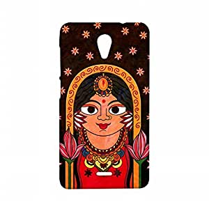 RANGSTER The Queen-Rangful Matte Finish Mobile Case For Micromax Unite 2 (A106)-Brown