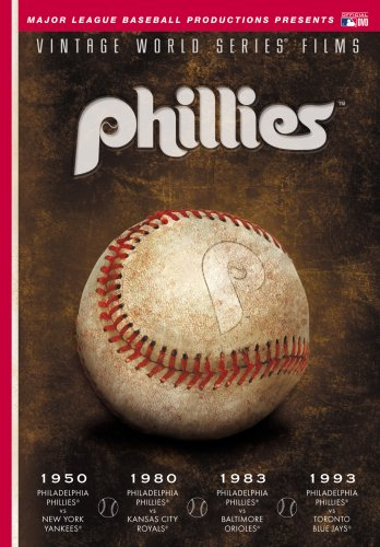 World Series Films - Philadelphia Phillies 1950, 1980, 1983 &amp; 1993