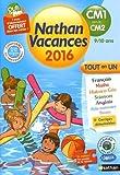 Nathan Vacances primaire - Du CM1 vers le CM2...