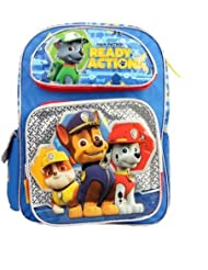 """Paw Patrol Ready For Action 16"""" Large School Backpack"""