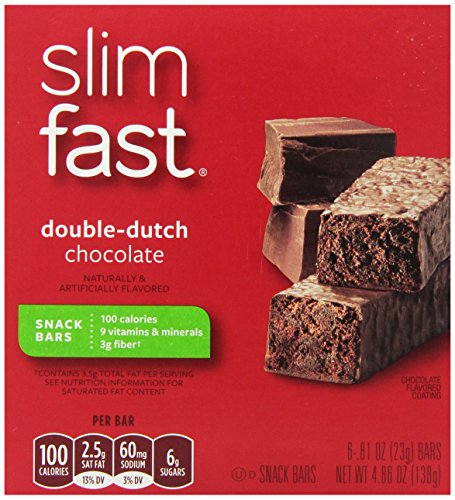 SlimFast snack-bars, Double-Dutch chocolat, 23