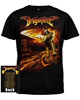Dragonforce - Flames Arms Mens S/S T-Shirt In Black