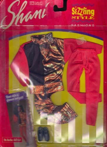 Shani Barbie Doll Sizzling Style Fashions