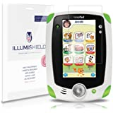 "iLLumiShield - LeapFrog LeapPad Ultra 7"" Crystal Clear Screen Protectors with Anti-Bubble/Anti-Fingerprint - 3-Pack + Lifetime Replacements"