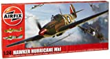 Airfix A14002 1:24 Scale Military Aircraft Series 14 Hawker Hurricane Mk1 Model Kit