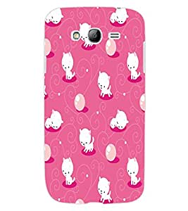 ColourCraft Cute Kitty Design Back Case Cover for SAMSUNG GALAXY GRAND NEO I9060