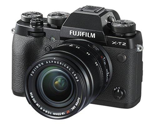 FUJIFILM ミラーレス一眼 X-T2 レンズキット X-T2LK-B