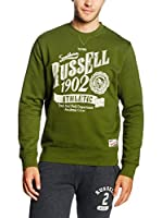 Russell Athletic Sudadera (Oliva)