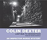 Last Bus to Woodstock Colin Dexter